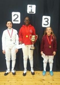 Three Newham Swords Fencers Dominate The Academy Cup