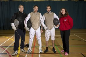 Left to Right: Pierre Harper (Head Coach), Jai Birch (GB No. 1), Rajan Rai (GB No. 2) and Linda Strachan (Club Manager)