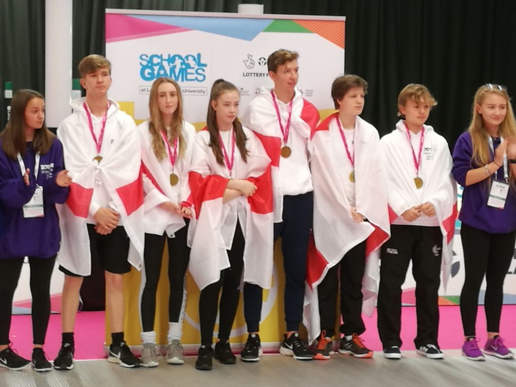Alice Double Gold at UK School Games