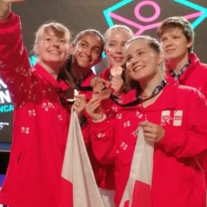 Alice takes team to bronze in Junior Commonwealth Games