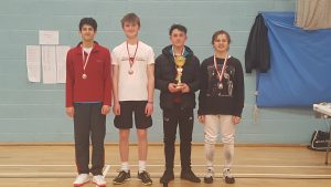 Winners of BRC foil men