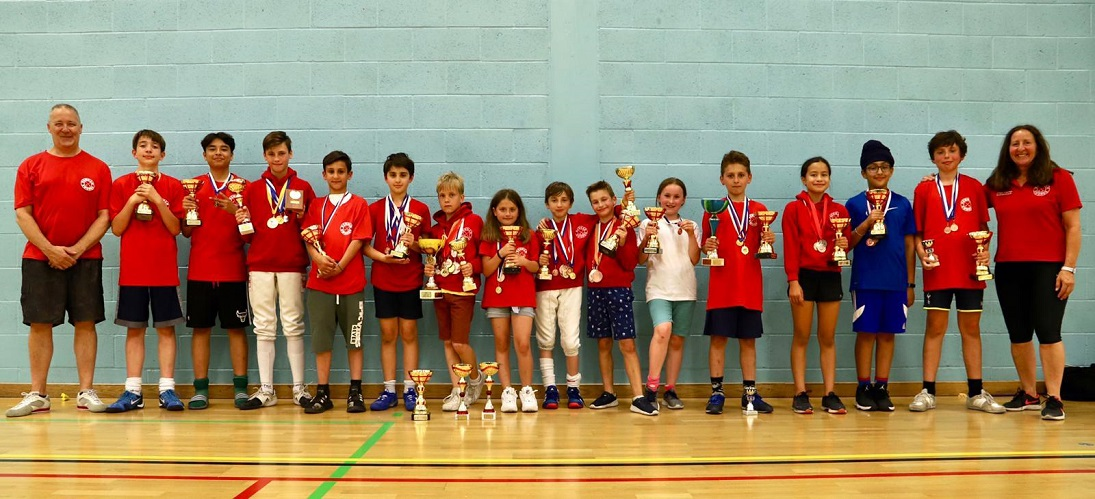 All Newham's Medallists 2018-19 Season