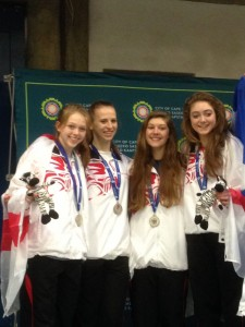 JJnr Commonwealths 2015 Feklistova Team Silver