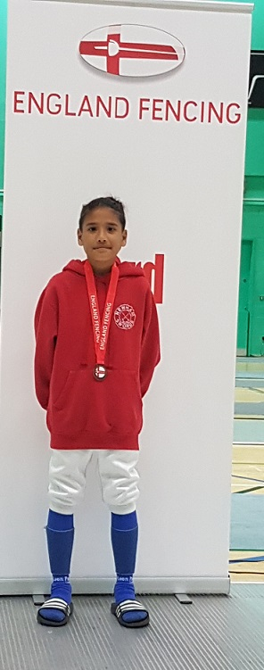 Khalam wins Bronze at English Youth Championships