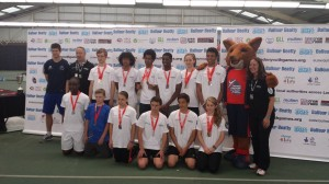 The Newham Swords Senior and Junior Teams at the London Youth Games 2014