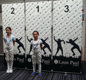 Sophie Tsang took 1st place in the International LPJS U9 comp 2/8/14