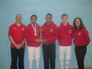 London BSC U20 foil event Sept 13 Small