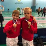 Max and Dominik, Gold and Bronze at LPJS Nott sept18