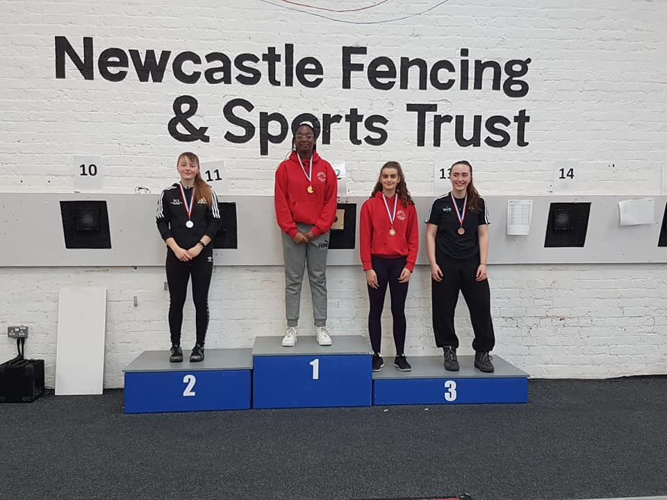 Stewart-Williams, Gold and Silk, Bronze in Newcastle U20 2018