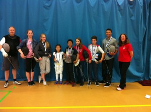 Nine Newham LPJS 2014 medal winners