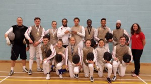 Newham Swords GB International Fencers - Small