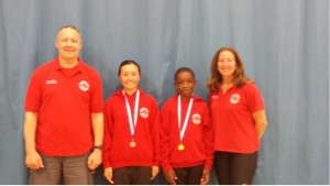Portsmouth LPJS gold and silver medal winners