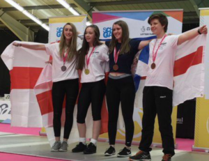 Alice 2nd from left in the Individual Foil presentationAlice 2nd from left in the Individual Foil presentation