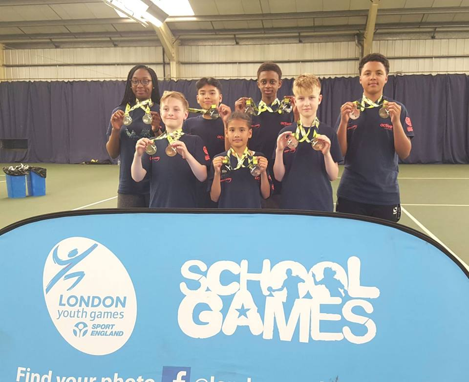 Silver at London youth Games 2018