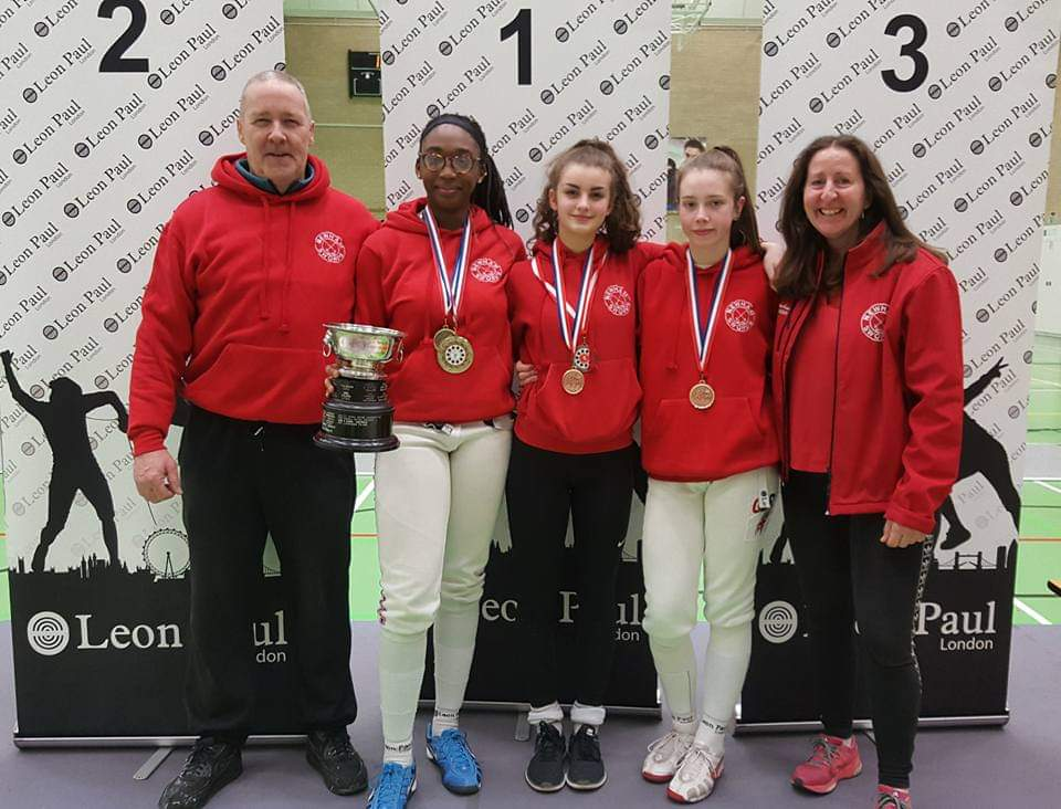 Williams-Stewart, Silk, Campbell, 2019 Invicta Open - Gold, Bronze and Silver