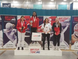 Teagan National Senior Women's Foil Champion 2019