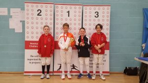 Newham Junior Challenge Series - Event 4 winners in the U10 Boys category