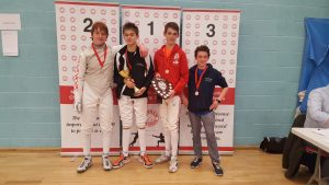 Newham Junior Challenge Series - Event 4 winners in the U14 Boys category