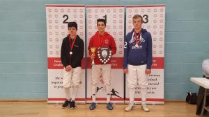 Newham Junior Challenge Series - Event 4 winners in the U16 Boys category: