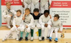 Young Newham Fencers NSCS May18