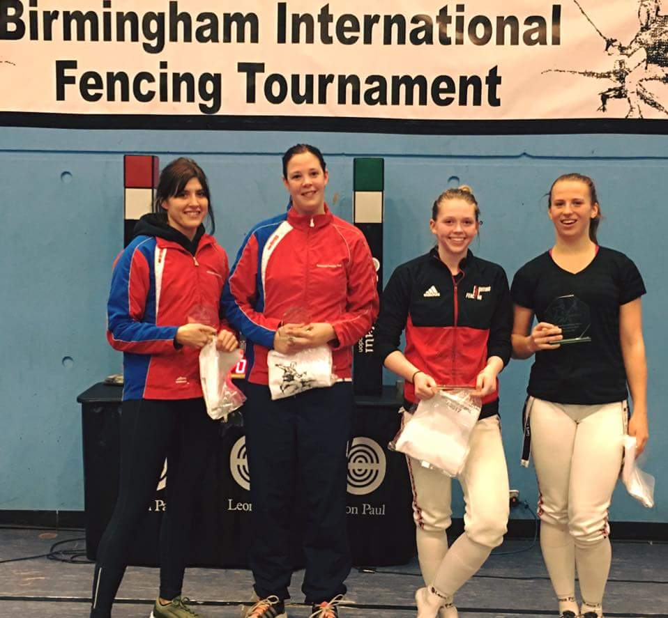 Katrina Feklistova (right) takes Silver at Birmingham Open 2017